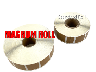 Magnum Tan Paster Roll - 2,000 Per Roll