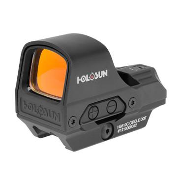 Holosun HS510C 2 MOA Dot & 65 MOA Circle Reflex Red Dot Sight (HS510C)