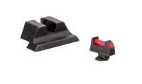 Trijicon Fiber Sight Set For Glock (GL701-C-601023)