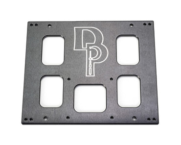 Dillon Precision 1050 / RL1100 / CP2000 Benchtop Mounting Plate (62006)
