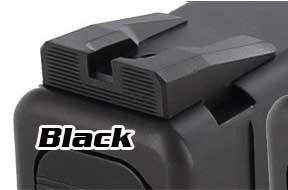 Dawson Precision Competition Fixed Rear Sights for Glock
