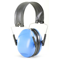 Dillon Precision HP2 Passive Ear Muff Hearing Protection Blue 10361