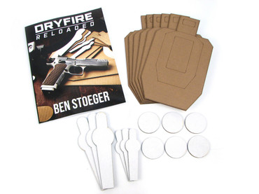 Dryfire Book Combo Pack! Dry-Fire Training Reloaded : For the Practical Pistol Shooter Paperback Book, and Scaled Targets