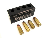EGW 4 Caliber Auto Ammo Chamber Checker Case Gauge 9mm, 40 S&W, 45 ACP & 38 Super