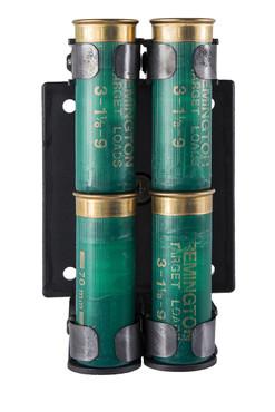 Ghost 360 Pro 4-Up Quad Load Shotgun Shotshell Holder - 3-Gun (SG-HSSP4)