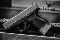 Glock 43 +2 Magazine  Basepad / Grip Extension by Henning
