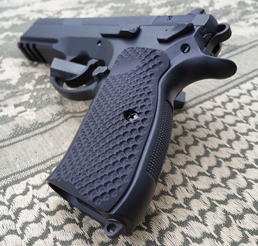 CZ 75 / SP-01 Shadow Palm Swell G10 Grips by LOK Grips