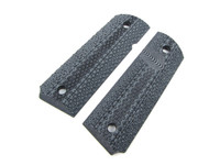 1911 Roughnecks Grips in Black and Grey by Lok Grips