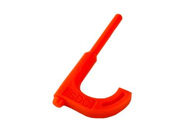 FSDC Orange Rifle Chamber Flag (FSDC550RRCF)