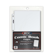 BCW Pro Comic Book Page (20ct) Pack