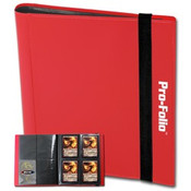 Pro-Folio 4 Pocket Red