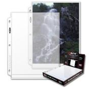 BCW Pro 8x10 Photo Page (100ct) Box
