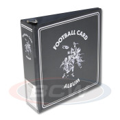 "BCW 3"" Album - Football Card Album - Black"