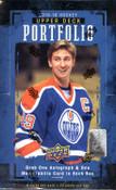 2015/16 Upper Deck Portfolio Hockey Hobby Box