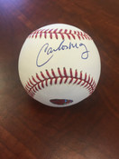 CARLOS MAY - Chicago White Sox - AUTOGRAPHED BASEBALL