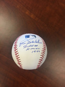 ERIC SODERHOLM - Chicago White Sox - AUTOGRAPHED BASEBALL