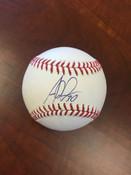ALEJANDRO DE AZA - Chicago White Sox - AUTOGRAPHED BASEBALL