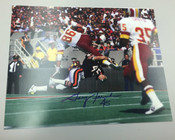 GARY FENCIK - Chicago Bears - AUTOGRAPHED 8x10 (Tackling Horizontal)