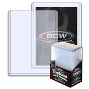 BCW 3x4 x 2.75mm Thick Card Topload Holder - 108 pt