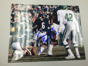 KEVIN BUTLER - Chicago Bears - AUTOGRAPHED 8x10 (Kicking / Horizontal)