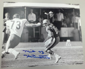 MIKE HARTENSTINE - Chicago Bears - AUTOGRAPHED 8x10
