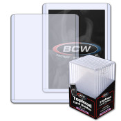 BCW 3x4 x 5mm Thick Card Topload Holder - 197 pt