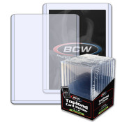 BCW 3x4 x 7mm Thick Card Topload Holder - 240 pt
