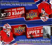 2015/16 Upper Deck Series 1 Hockey Retail Box