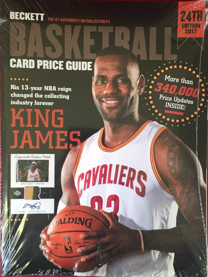 Beckett Annual 2017 Basketball 24th Edition The Baseball