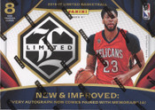 2016/17 Panini Limited Basketball Hobby Box