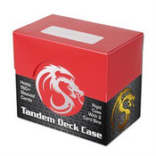 BCW Gaming Deck Case - Tandem - Red