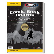 BCW Golden Comic Backing Boards