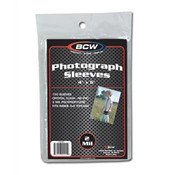 BCW 4x6 Photo Sleeves