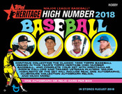 2018 Topps Heritage High Number Hobby Box