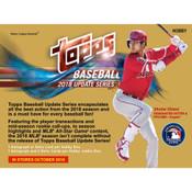 2018 Topps Update Series Baseball Hobby 12 Box Case + 12 Silver Packs