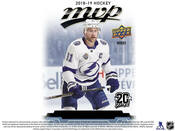 2018/19 Upper Deck MVP Hockey Hobby Box (For Pricing Text: UDPRICING to 630-664-6580)