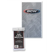 BCW Tall Trading Card Sleeves 2 5/8 X 4 13/16