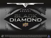 2018/19 Upper Deck Black Diamond Hockey Hobby Box (For Pricing Text: UD PRICING to 779-707-5200)