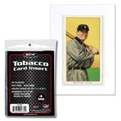 Tobacco Card Insert Sleeve 50 Pack Case