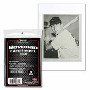 BCW Insert Sleeve - 48 Bowman Card - 50 Pack Case