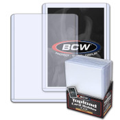 BCW 3x4 Topload Card Holder 25ct/40pk Case - Premium