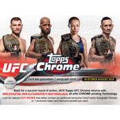 2018 Topps UFC Chrome Hobby Box