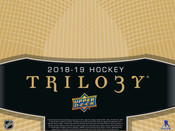 2018/19 Upper Deck Trilogy Hockey Hobby Box (For Pricing Text : UD PRICING to 779-707-5200)