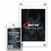 BCW 4-Screw Card Holder Non Recessed Case 180ct Case