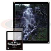 BCW 8x10 Photo Screwdown Holder - Black Border