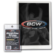 BCW Regular Snap Card Holder 400ct Case