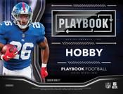 2018 Panini Playbook Football Hobby 16 Box Case + 32 Kickoff Packs