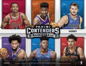 2018/19 Panini Contenders Basketball Hobby 12 Box Case