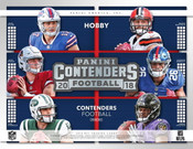 2018 Panini Contenders Football Hobby 12 Box Case
