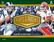 2018 Panini Plates & Patches Football Hobby 12 Box Case